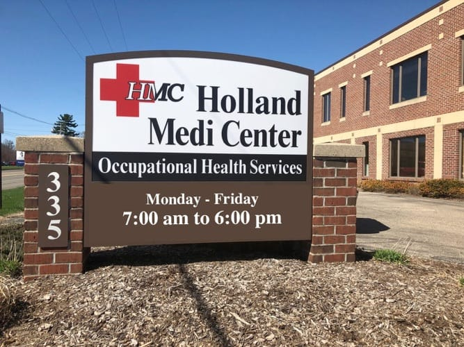occupational medicine at Holland MediCenter